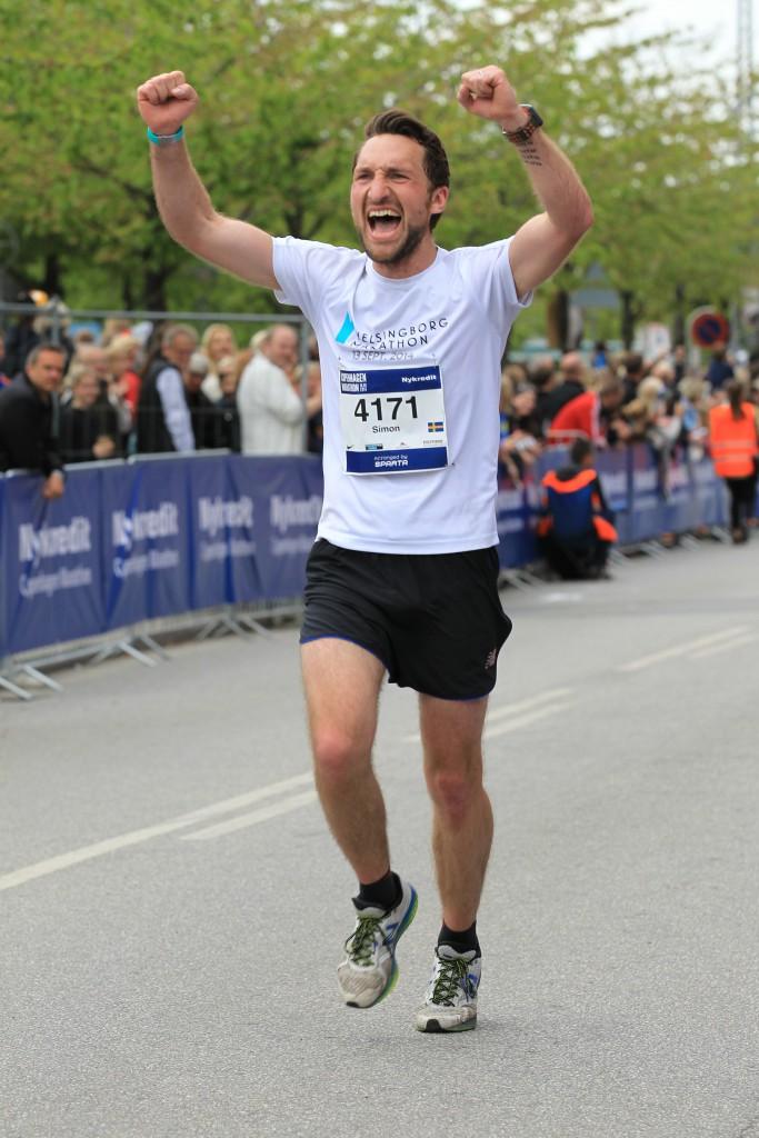 Att springa i mål på ett maraton igen. Nu börjar jag längta!