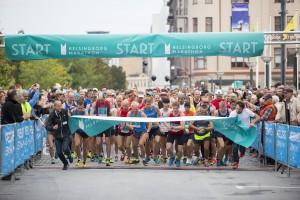En mäktig känsla att få släppa iväg startfältet på Helsingborgs första maraton