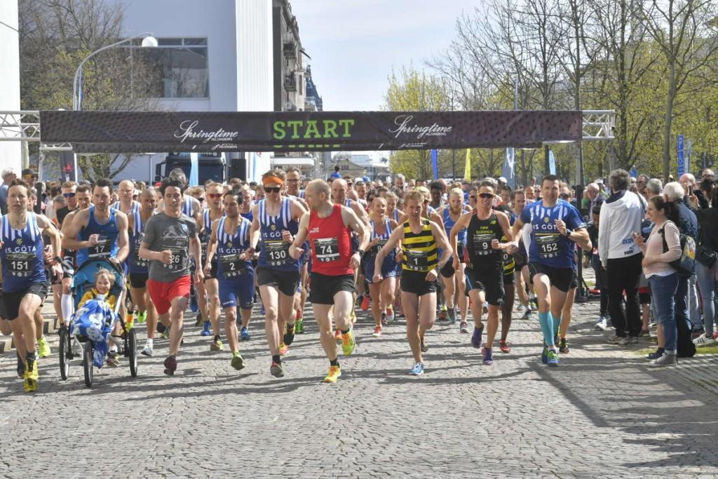 Starten, PANG! Foto: HD / Sven-ErikSvensson