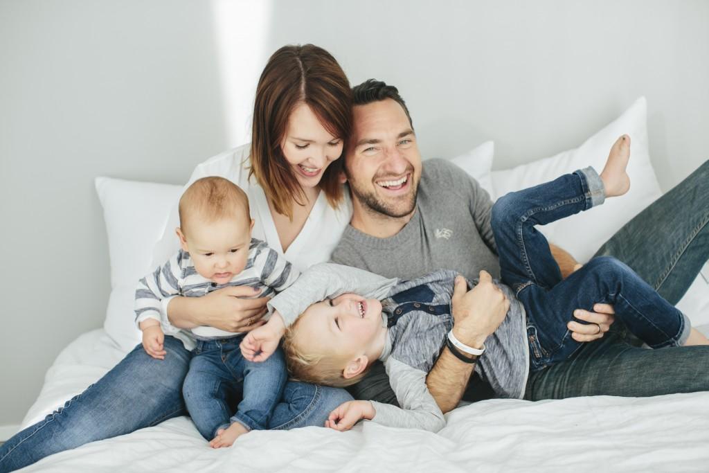 Min familj, mitt allt. Foto: bästa Anna Roström / smallpigart
